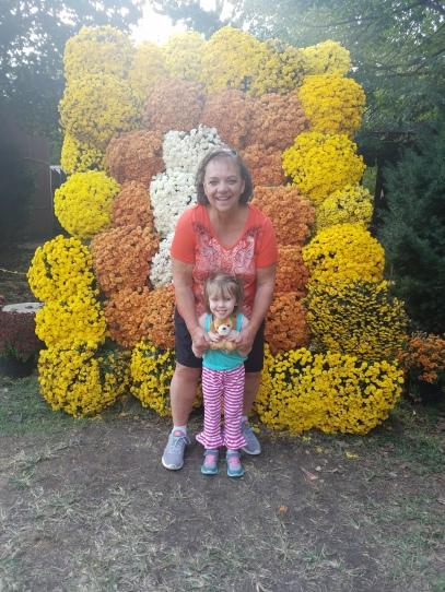 Mom and Stella_Pumpkins